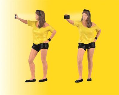Viessmann 1551 Frau schießt Selfie