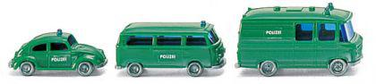 Wiking 093500 Polizei Einsatzfahrzeuge