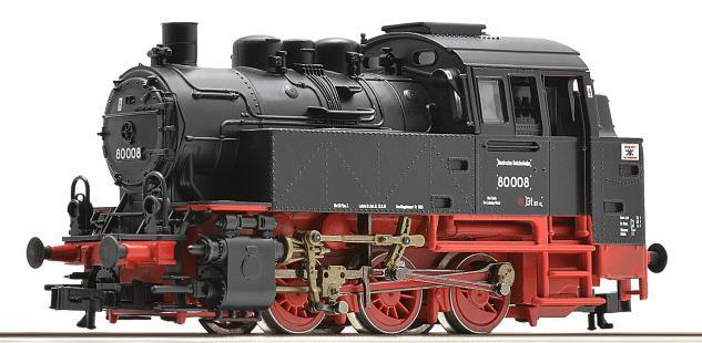 Roco 36004 Dampflok BR 80 DR