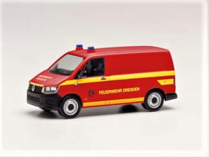 Herpa 095433 VW T6 Feuerwehr Gerätewagen