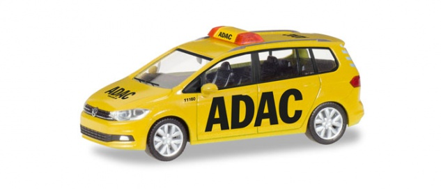 Herpa 093767 VW Touran ADAC Straßenwacht