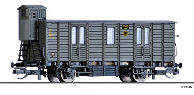 Tillig 17341 Bahnpostwagen Deutsche Reichspost