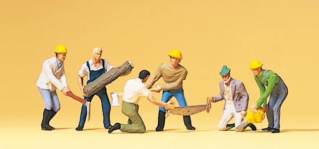 Preiser 10042 Waldarbeiter