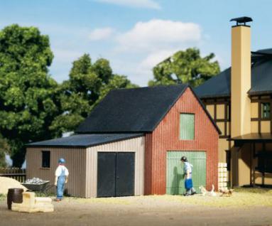 Auhagen 11408 Lagerschuppen mit Garage
