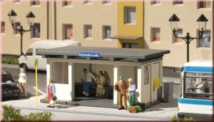 Auhagen 11419 2 Buswartehäuschen