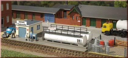 Auhagen 13326 Dieseltankstelle