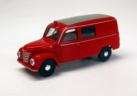 Modell Car Zenker Framo Kleinlöschfahrzeug
