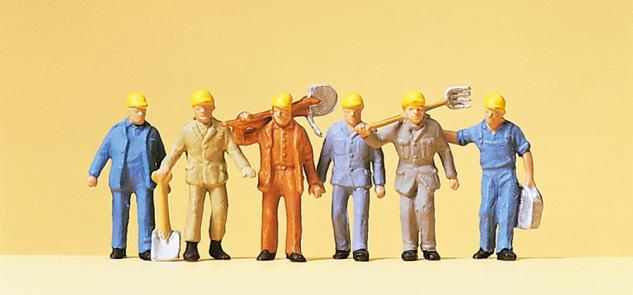Preiser 14033 Gleisbauarbeiter