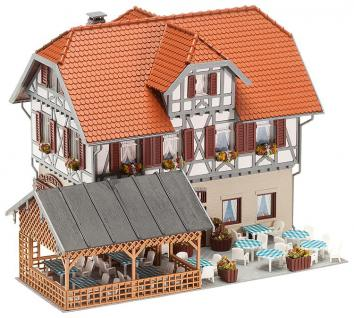 Faller 130438 Gasthaus Sonne mit Laube