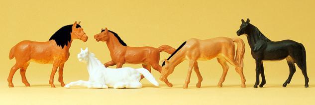 Preiser 14150 Pferde