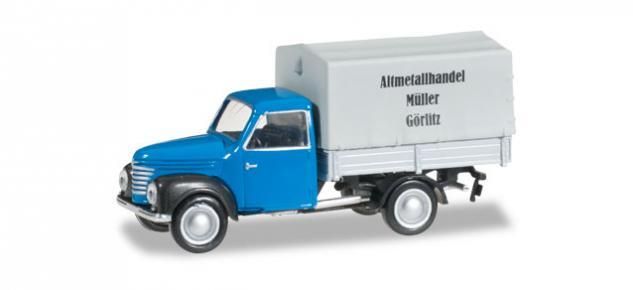 Herpa 066280 Framo Altmetallhandel Müller