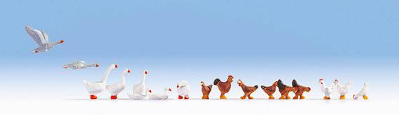 Noch 15772 Hühner und Gänse