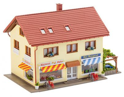 Faller 232336 Metzgerei und Bäckerei