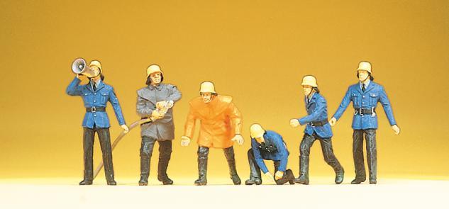 Preiser 14201 Feuerwehrmänner