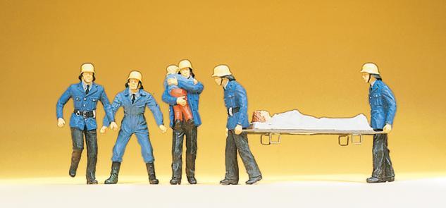 Preiser 14202 Feuerwehrmänner