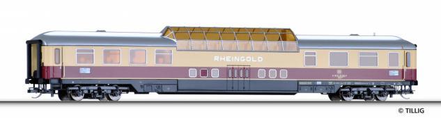 Tillig 16551 Aussichtswagen Rheingold