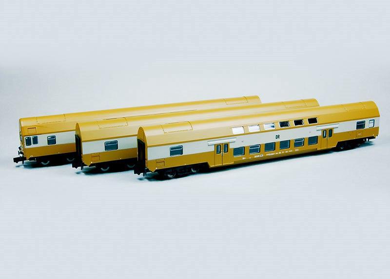 Kuehn-Modell 91020 Set Doppelstockwagen