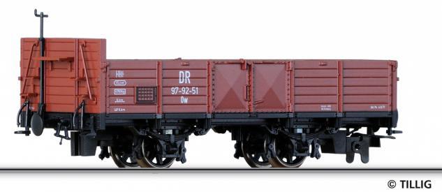 Tillig 05935 H0e Offener Güterwagen der DR
