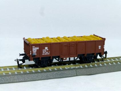 BTTB 4244 Güterwagen mit Holzladung