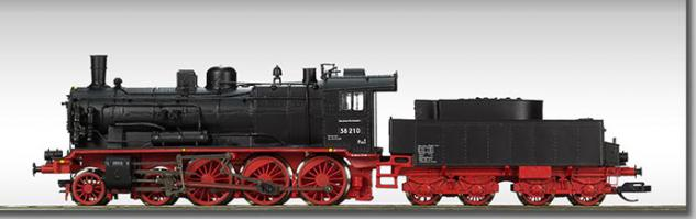 Beckmann 1018308 Dampflok BR 38 DR