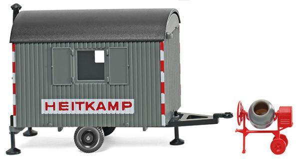 Wiking 065606 Bauwagen Heitkamp