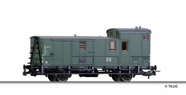 Tillig 76576 Sächsischer Gepäckwagen DR