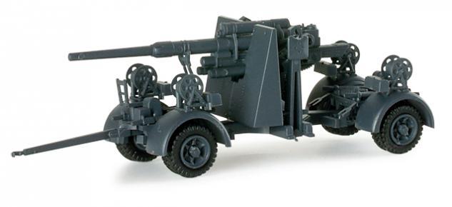 Herpa 741583 8, 8 cm Flak Geschütz
