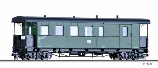 Tillig 03963 H0e Halbgepäckwagen DR - Vorschau 1