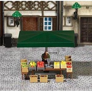 Busch 7706 Marktstand Obstverkauf
