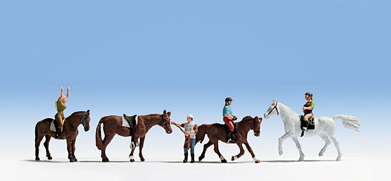 Noch 15630 Reiter und Pferde