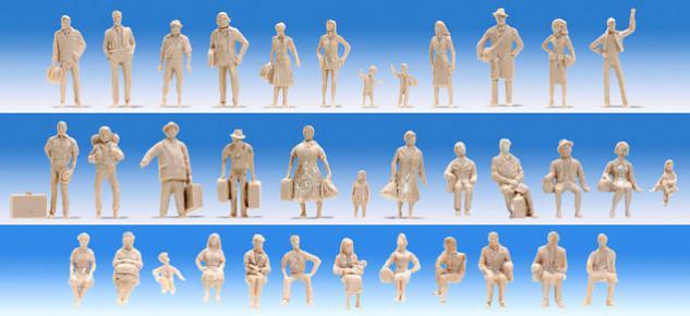 Noch 35985 Unbemalte Figuren