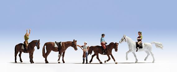 Noch 45630 Reiter und Pferde