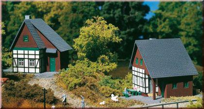 Auhagen 14452 2 Fachwerkhäuser