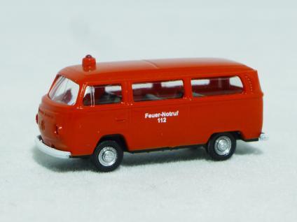 Lemke Minis LC5013 VW T2 Feuerwehr Bus