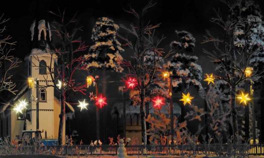 Busch 5414 Weihnachtssterne Weiß