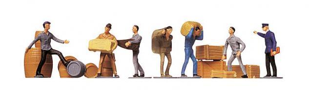 Faller 151001 Transportarbeiter mit Ladegut