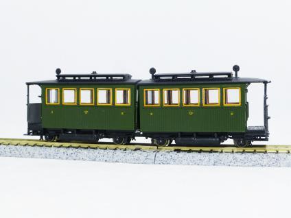 pmt 52413 H0e Personen-Doppelwagen