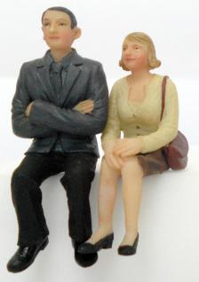 Scenecraft 22-183 Mann und Frau Sitzend