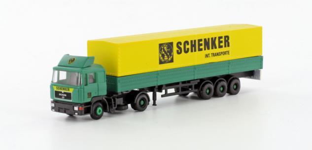 Lemke Minis LC4056 MAN F90 Sattelzug