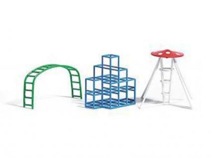 Busch 1164 Spielplatz Kletter-Set