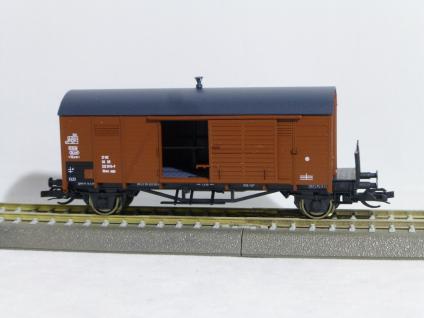 Hädl 113654 Gedeckter Güterwagen der DR