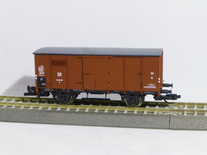 Hädl 113903 Flachdachgüterwagen DR