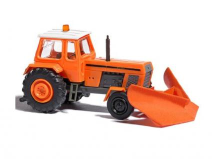 Busch 8710 Traktor ZT 300 mit Spitzpflug
