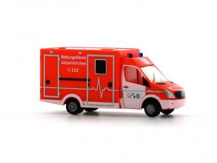 Rietze 16182 WAS Ambulanz RTW
