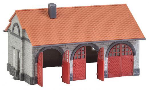 Faller 222209 Feuerwehrgerätehaus - Vorschau 2