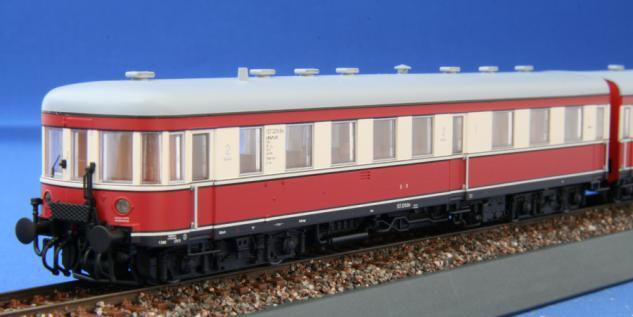 Kres 1383 Triebzug VT 137 Bauart Stettin DR - Vorschau 2
