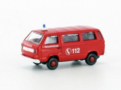 Lemke Minis LC4309 VW T3 Feuerwehr Bus