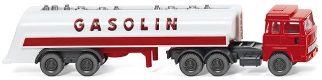 Wiking 098241 Tanksattelzug GASOLIN
