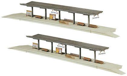 Faller 222126 2 Bahnsteige