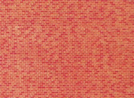 Faller 222568 Mauerplatte, Backstein